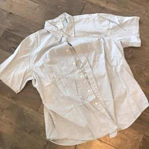 Brooks Brothers light grey button up